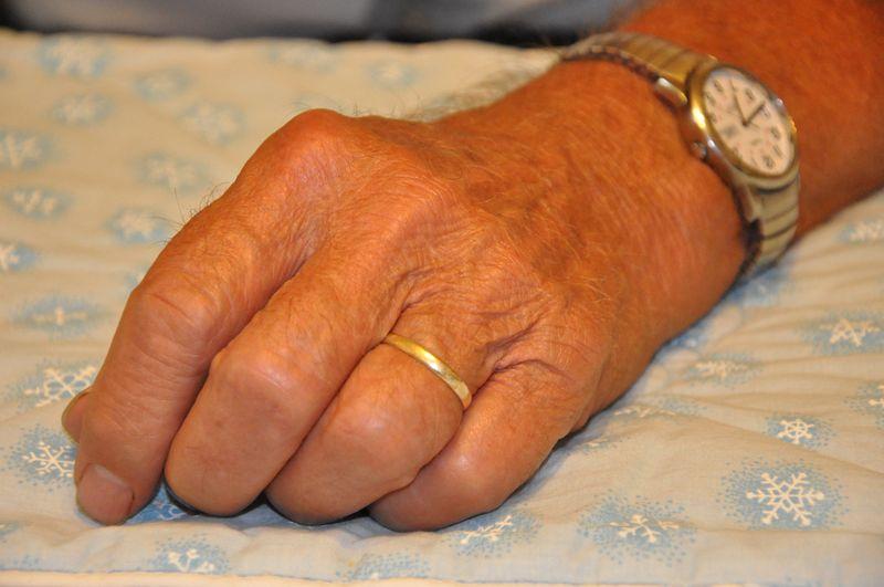 Closeup hand